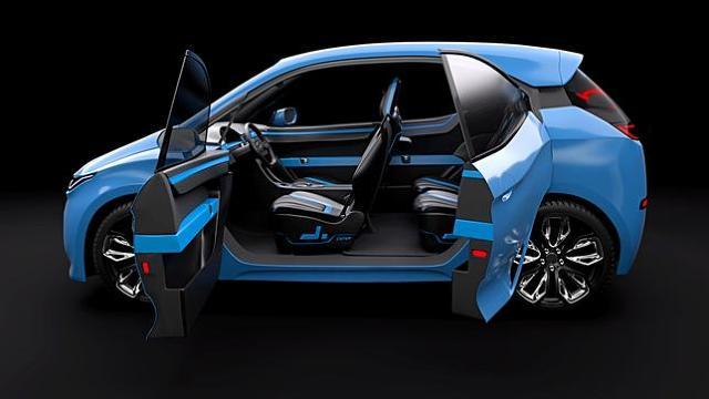 IXAR   Cała konstrukcja będzie ważyć poniżej 450 kilogramów, i posiadać cztery silniki o łącznej mocy 15 kW. Za kierownicą może usiąść osoba, która skończyła 16 lat i posiada prawo jazdy kategorii B1.  Fot. Dytko Sport