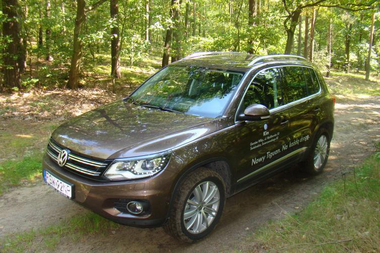 Testujemy: Volkswagen Tiguan - kieszonkowy SUV (ZDJĘCIA)