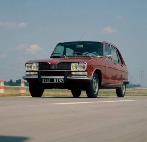 Fot. Renault: Renault R16 był jednym z pierwszych samochodów z nadwoziem typu hatchback. Jego twórcą był stylista Yves George. Pojazd zaprezentowano 40 lat temu - w 1965 r.
