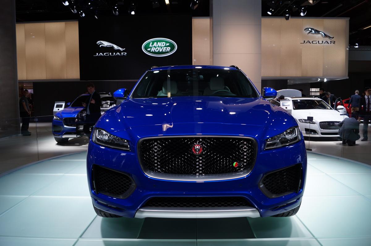 Jaguar F-Pace / Fot. Tomasz Szmandra