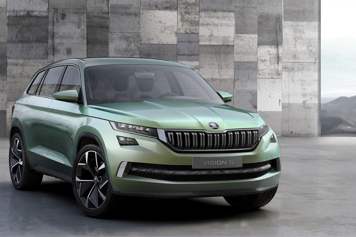 SUV Skody, który prawdopodobnie otrzyma nazwę Kodiak będzie samochodem siedmioosobowym. Więcej informacji poznamy podczas tegorocznego salonu samochodowego w Genewie / Fot. Skoda