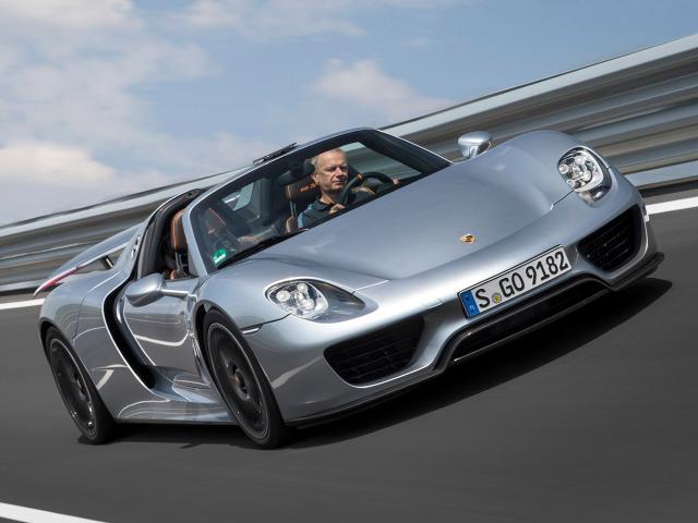 Porsche 918 Spyder / Fot. Porsche