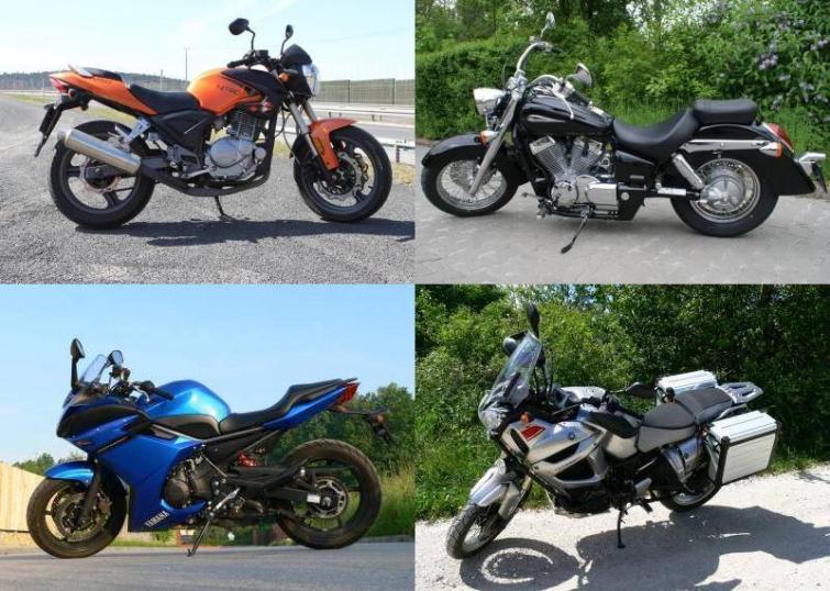 Pierwszy motocykl w życiu - jak wybrać i co kupić - poradnik