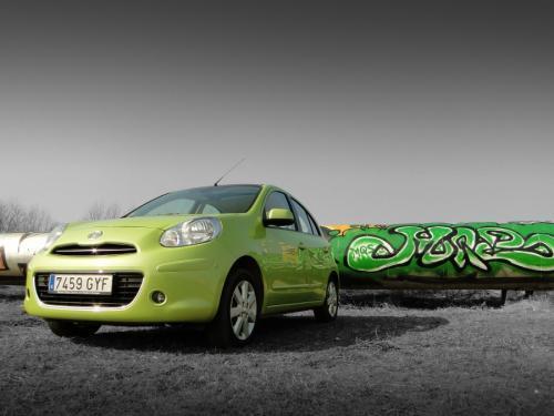 Nissan Micra, Fot: Dariusz Wołoszka Info-Ekspert