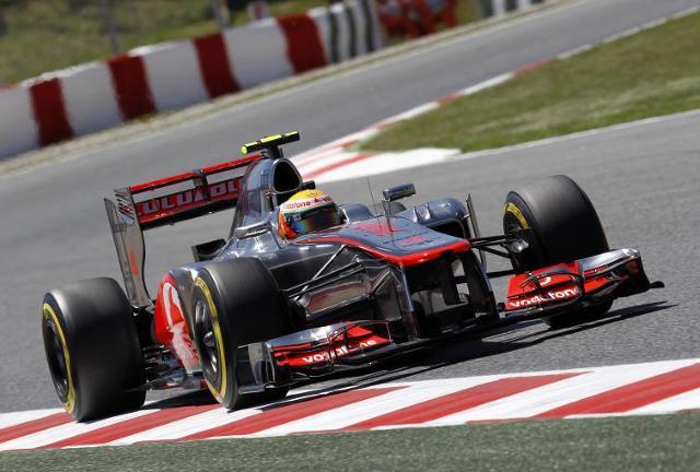 Hamilton ukarany - pole position do GP Hiszpanii dla Maldonado