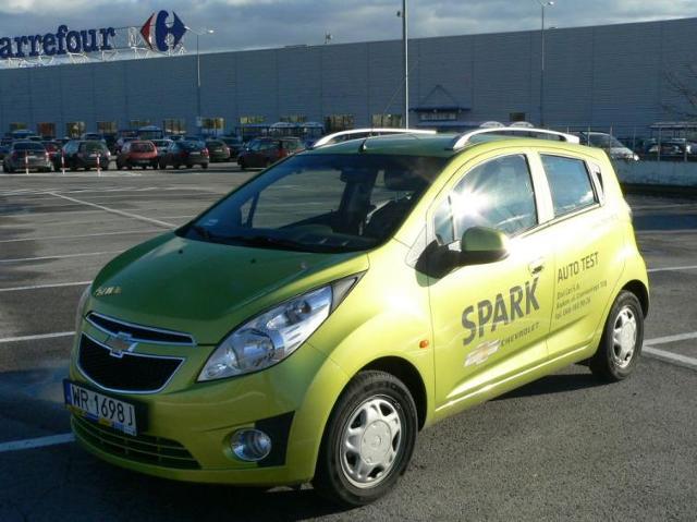 Testujemy: Chevrolet Spark – dobry wózek na zakupy