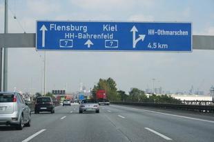 Ograniczenia prędkości na autostradach w Niemczech?