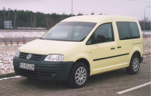 Fot. Z. Podbielski: Produkowany w Polsce VW Caddy to udany kombivan produkowany w kilku wersjach.
