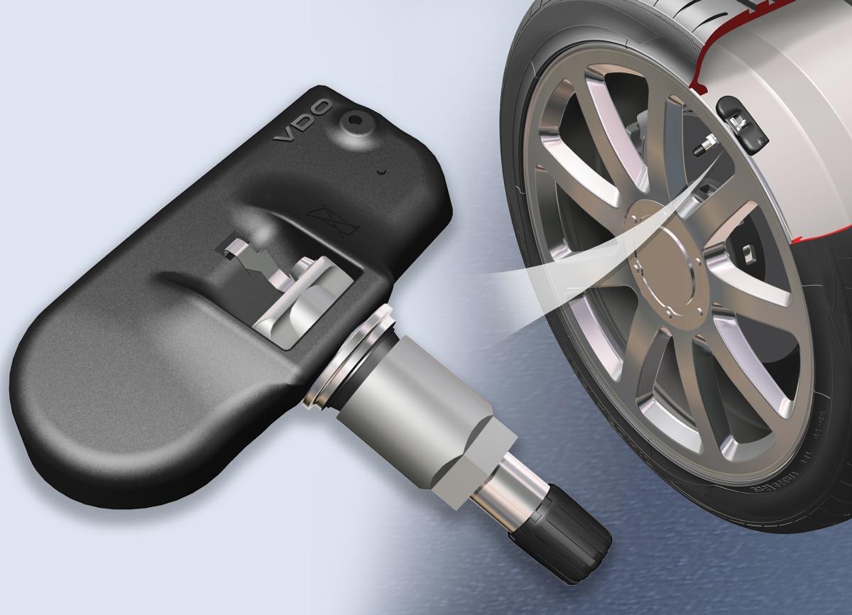 Najdokładniejsze systemy pomiaru ciśnienia w kołach mają czujniki montowane w wentylach/fot. Oponeo.pl