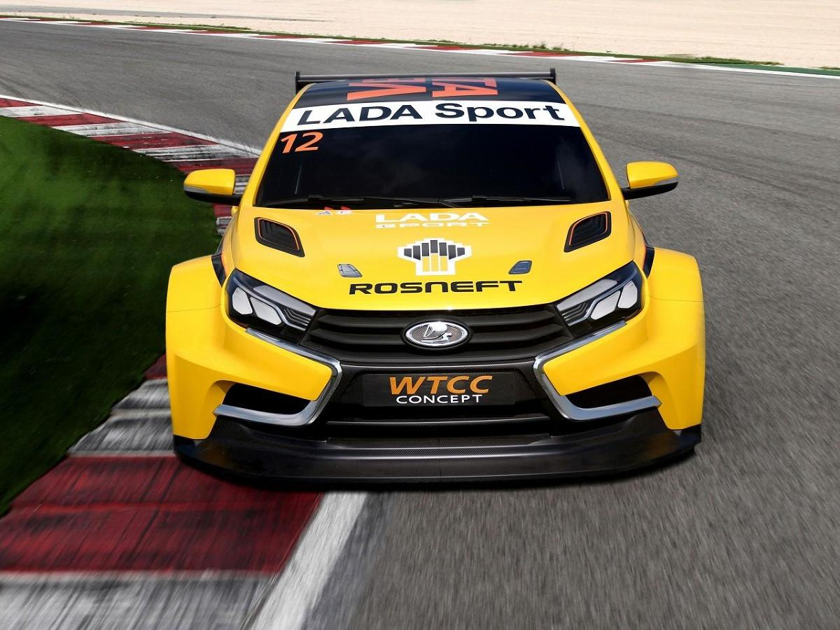 Łada Vesta WTCC Concept - Fot. Łada