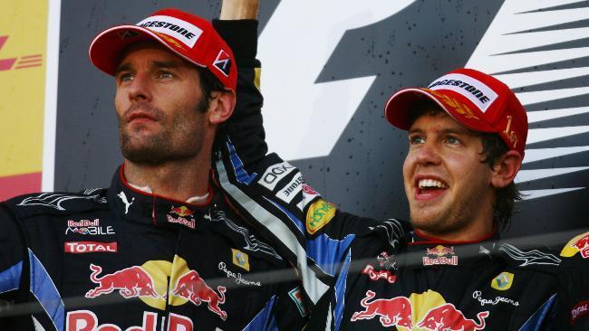 Fot. Red Bull : Mark Webber i Sebastian Vettel