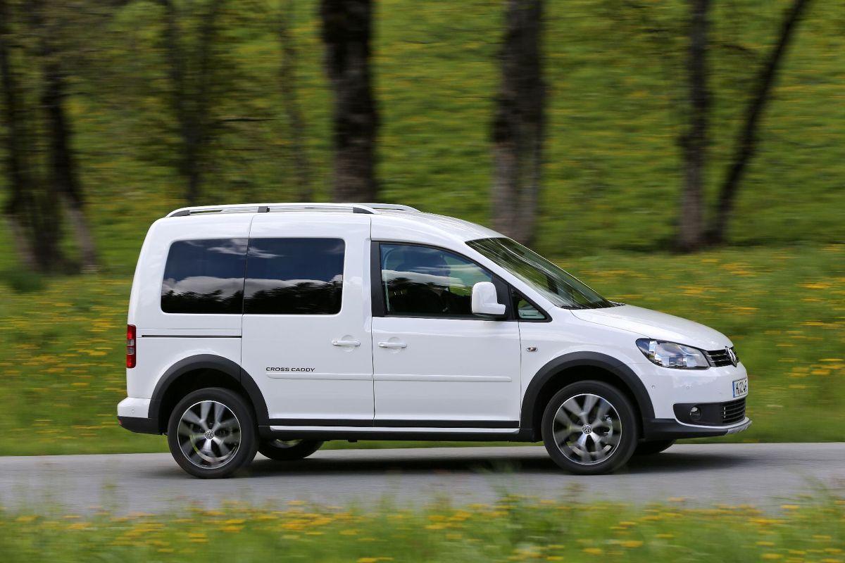 Volkswagen Caddy Zdjęcie Volkswagen Caddy Cross Foto