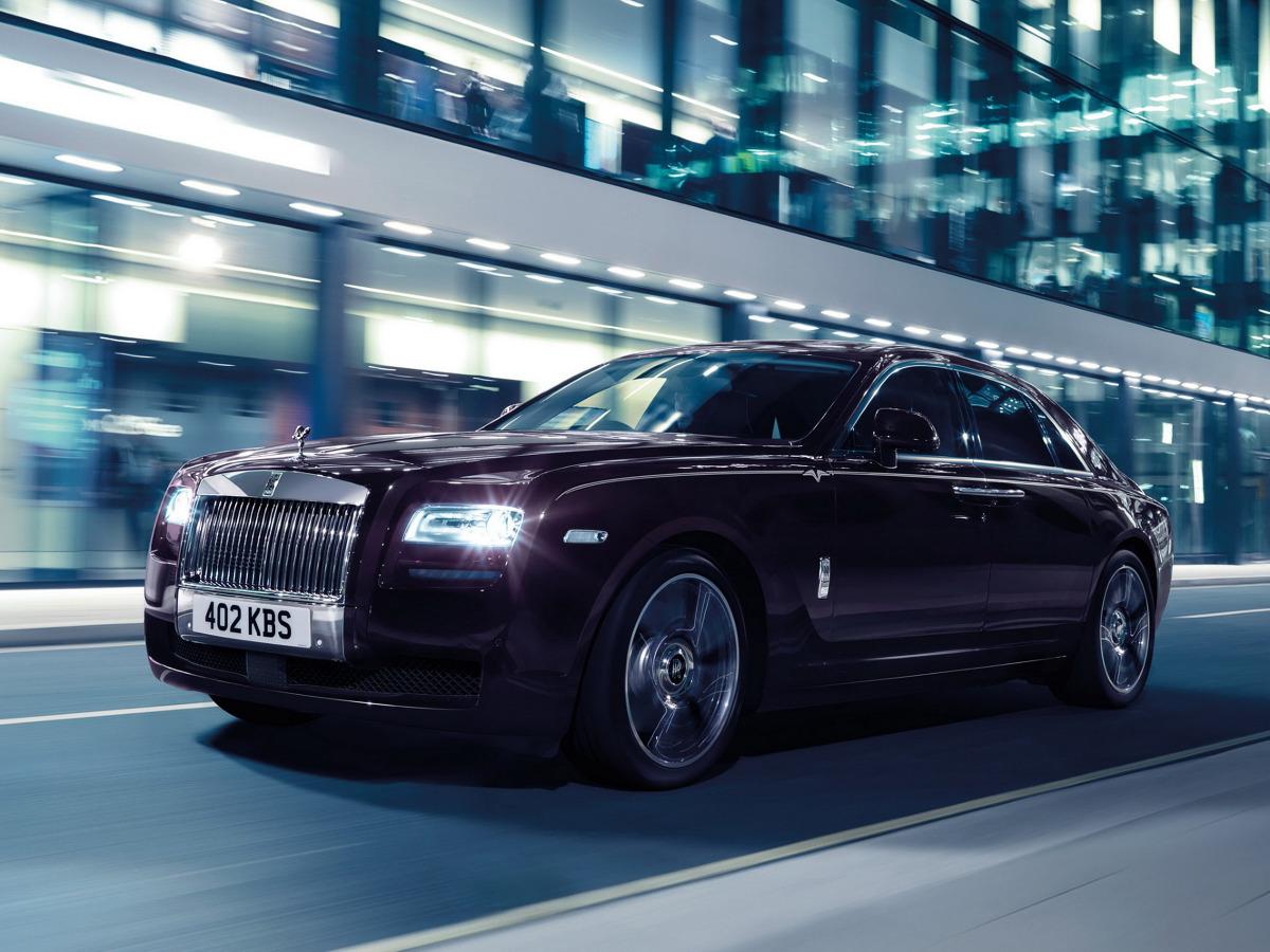 Rolls-Royce Ghost V-Specification / Fot. Rolls-Royce