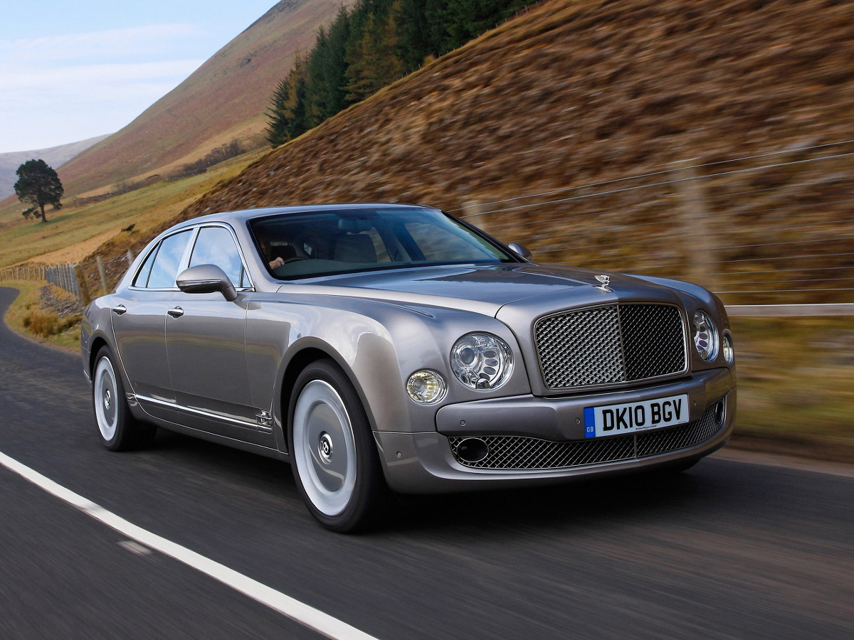 Bentley Mulsanne 2010 / Fot. Bentley