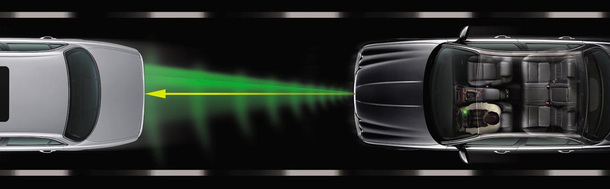 Już teraz niektóre samochody są wyposażone w urządzenie automatycznie utrzymujące stałą odległość od