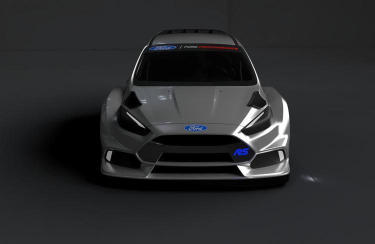 Ford Focus RS w Rallycrossowych Mistrzostwach Świata FIA 2016   Focus RS Rallycross zadebiutuje podczas rundy Rallycrossowych Mistrzostw Świata FIA w Portugalii w dniach 15-17 kwietnia br, a za kierownicą usiądą Block i Bakkerud.  Fot. Ford