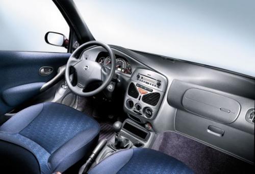 Fot. Fiat: Wnętrze pojazdu.