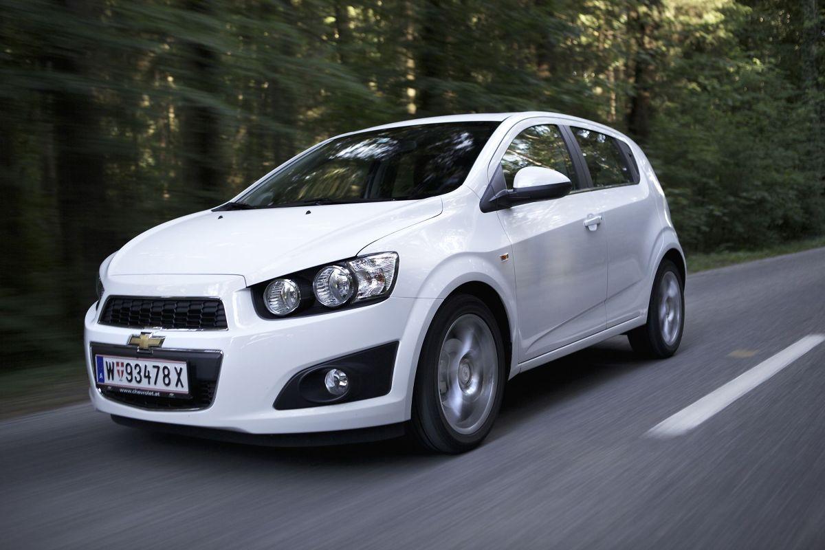 Chevrolet Aveo, Fot: Chevrolet