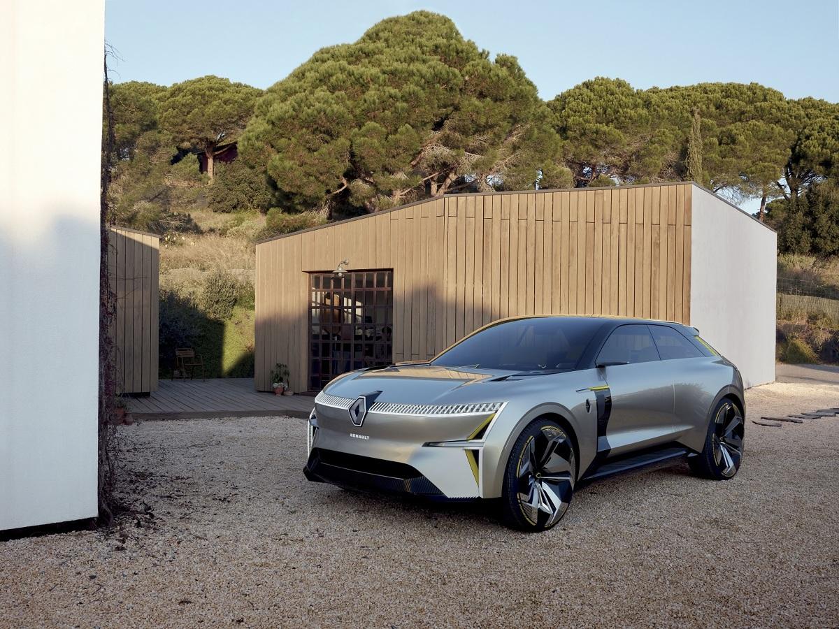 Renault Morphoz jest zapowiedzią naszych przyszłych modeli elektrycznych o wysokich osiągach. Fot. Renault