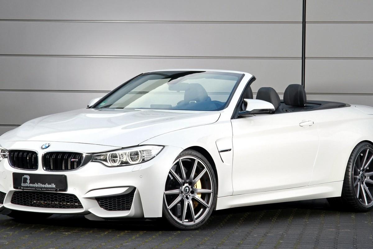 Specjaliści z firmy B&B Automobiltechnik postanowili zmodyfikować BMW M4. To propozycja dla wymagających klientów, którym potrzeba więcej mocy jak standardowe 430 KM / Fot. B&B Automobiltechnik