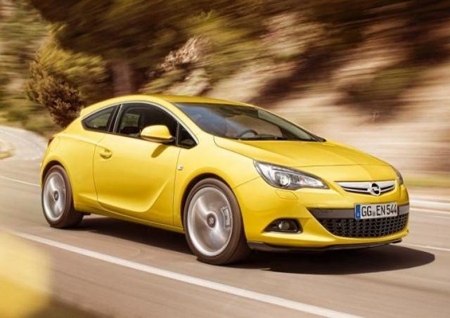 Opel Astra GTC - sportowa nowość z Polski - zobacz zdjęcia