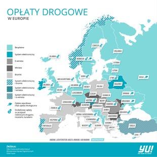 Oplaty Drogowe W Europie Gdzie I Ile Zaplacimy Za Przejazd