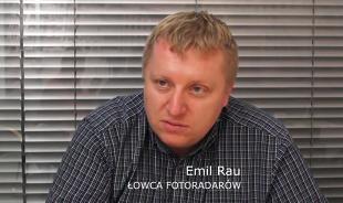 Emil Rau, Łowca Fotoradarów  Fot. Motofakty