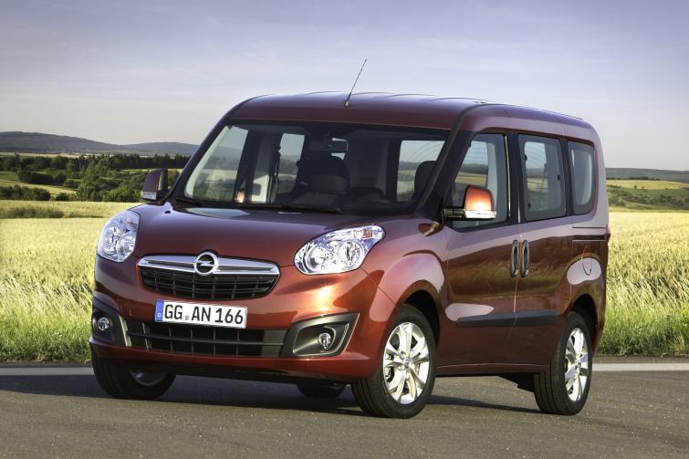Nowy Opel Combo pojawi się na europejskim rynku w 2012 roku