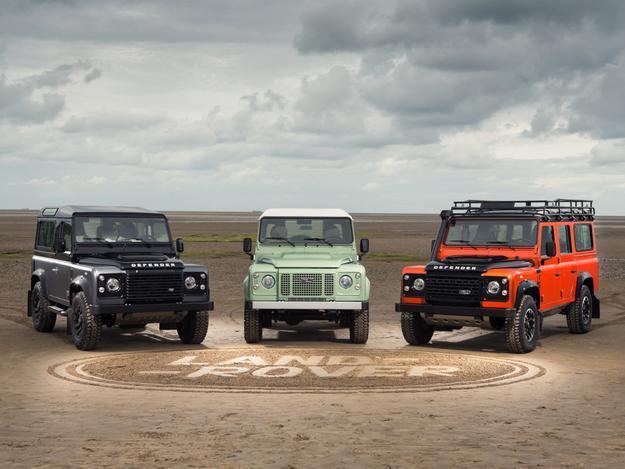 Land Rover Defender / Fot. Land Rover