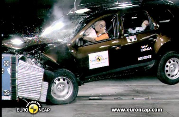 Dacia Duster – porażka w testach zderzeniowych Euro NCAP