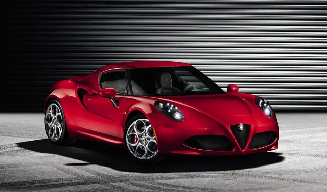 zdjęcie  Alfa Romeo 4C