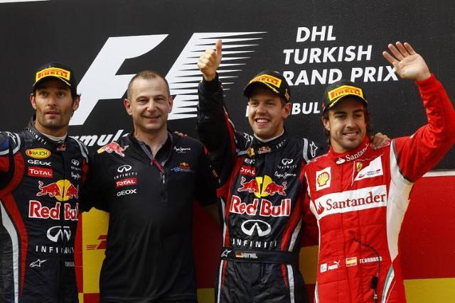 Red Bull dostał na treningach w Barcelonie skrzydeł