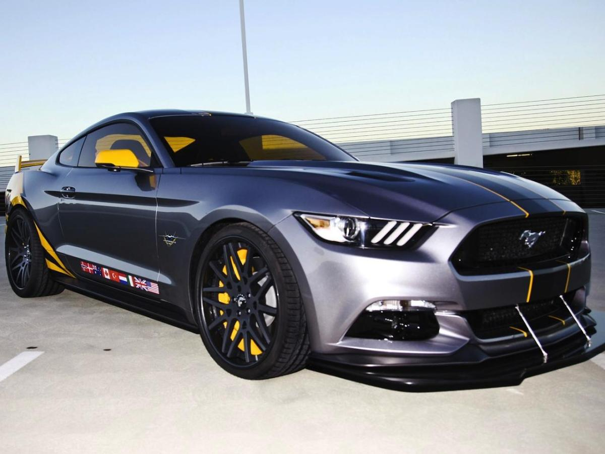 Ford Mustang GT F-35 Lightning II Edition / Fot. Ford