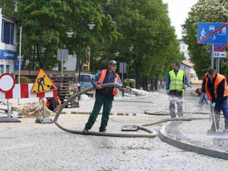 Koniec remontu ulicy Marynarki Polskiej w Ustce