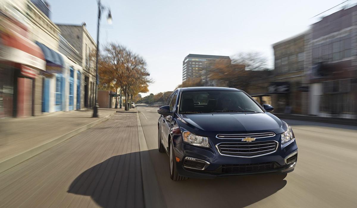 Chevrolet Cruze facelift / Fot. Chevrolet