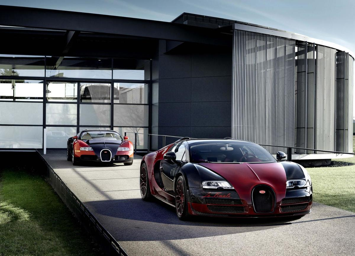 Bugatti Veyron Grand Sport Vitesse La Finale / Fot. Bugatti