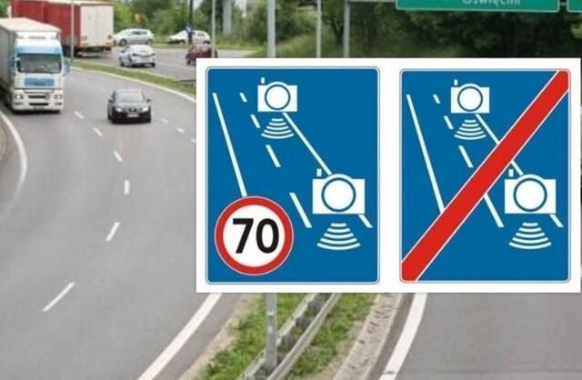 Tego się nikt nie spodziewał: z odcinka autostrady A1 w Śląskiem zniknął właśnie odcinkowy pomiar prędkości! 16 kamer z A1 wyłączono i, jak się nieoficjalnie dowiedzieliśmy, zostaną one przeniesiono w inne miejsce. Teraz odcinkowy pomiar prędkości będzie monitorował jazdę kierowców w tunelu południowej obwodnicy Warszawy, na S2. Jednak z A1 nie zniknęły ograniczenia prędkości. Wciąż obowiązuje tam ograniczenie do 70 km/h. Fot. GDDKiA