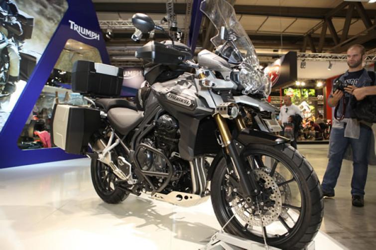 Triumph Tiger Explorer - brytyjska nowość na EICMA 2011