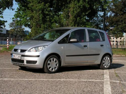 Fot. Ryszard Polit: Colt to nowoczesne auto, którym Mitsubishi chce podbić europejski rynek.
