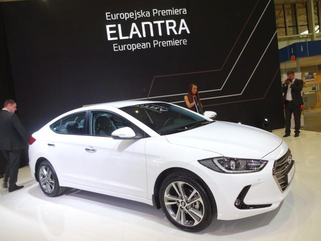 Hyundai Elantra  Fot. Tomasz Szmandra