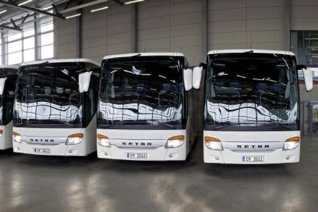 Autobusy Setra dla piłkarzy na Euro 2012. Zobacz film