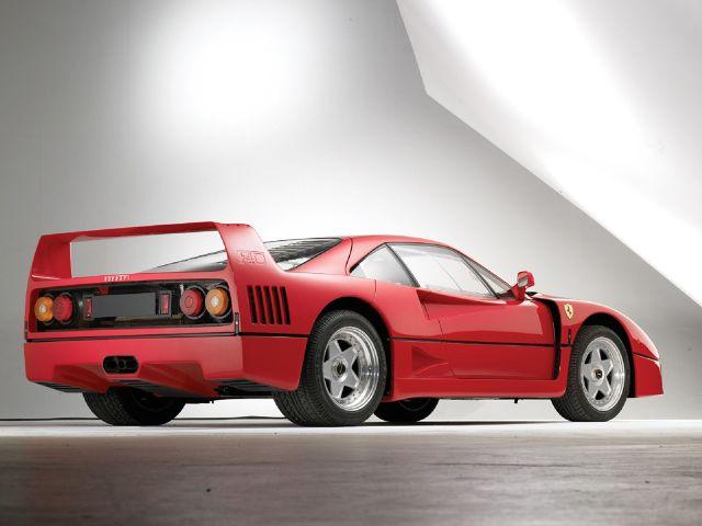 zdjęcie Ferrari F40
