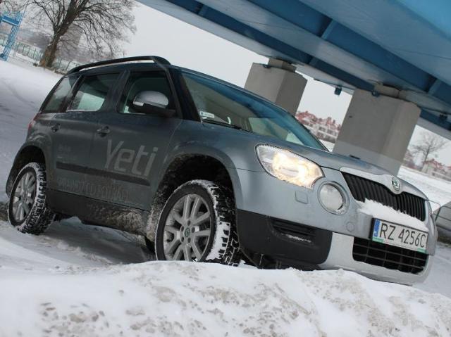 Testujemy: Skoda Yeti 1.2 TSI - człowiek śniegu z lekką zadyszką