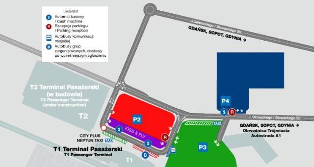 Od poniedziałku nowa organizacja ruchu na lotnisku w Gdańsku