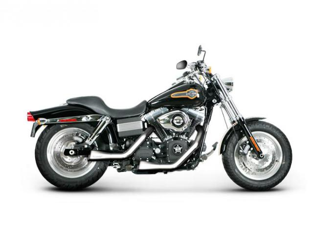 Harley-Davidson Fat Bob z wydechem Akrapovič