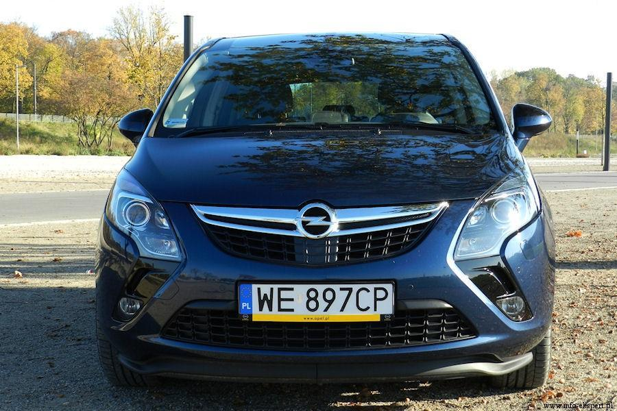 Opel Zafira Tourer 2.0 CDTI ,  Fot: Robert Kulczyk – Info-Ekspert