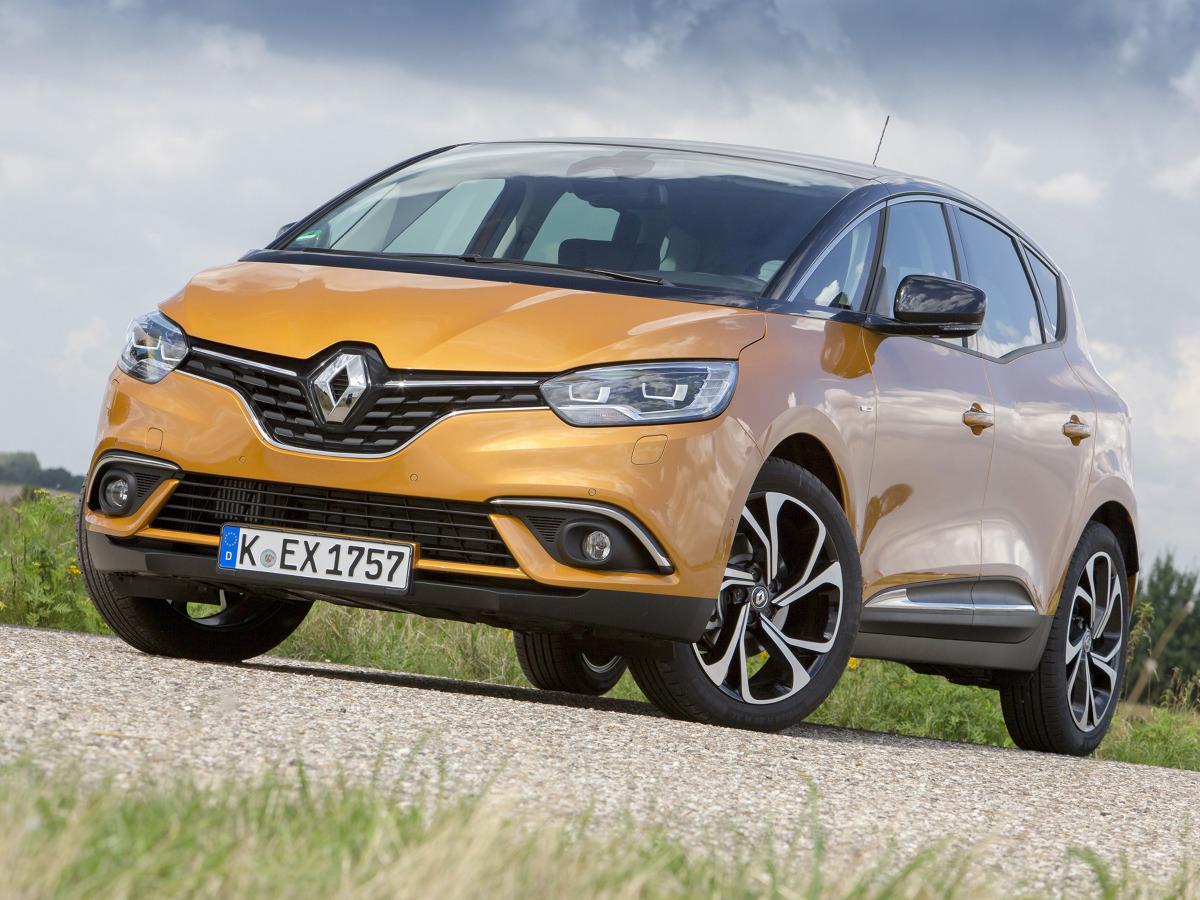 Renault Scenic   Renault Scenic z benzynowym silnikiem o mocy 115 KM i w wersji wyposażenia Life kosztuje 75 tys. zł.   Fot. Renault