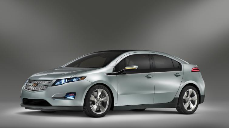 Elektryczny Chevrolet Volt nagrodzony za bezpieczeństwo