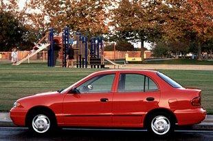 Hyundai Accent I (1995 - 1999) Sedan