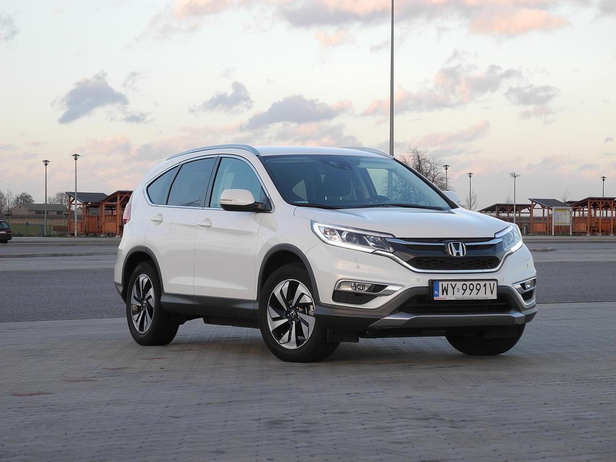 Honda cr v i dtec 160 km r wnocze nie z wprowadzeniem nowego silnika honda cr